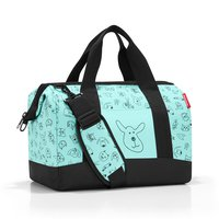 Reisetasche Allrounder M Kids Cats and Dogs Mint