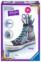 3D Puzzle Girly Girl Sneaker - Animal Trend