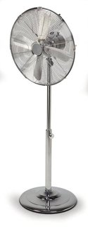 Standventilator - 40 cm Durchmesser, Ventilator in Chrom