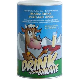 Molke Granulat L-Carnitin Banane
