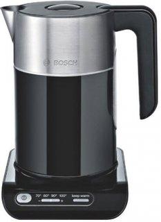 Bosch Wasserkocher TWK8613 - Schwarz/Silber