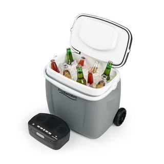 Picknicker Trolley Music Cooler 36l Trolley-Kühlbox BT-Lautsprecher grau
